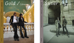 Libraian Book and CD�uGold�v�uSilver�v
